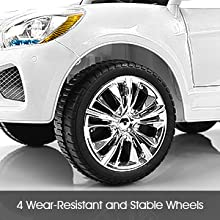 4 Wear-Resistant and Stable Wheels