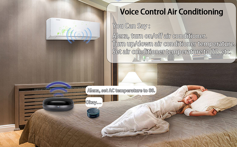 YTF | Wifi Smart IR | IR Control Hub | Smart Air Conditioner Remote  Compatible With Alexa, Google Home | All In One Infrared Remote For Smart  Home |