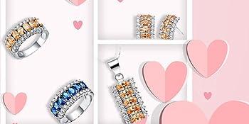 jewelry set rings,jewelry set drop,jewelry set with box,  jewelry set wedding, jewelry set prom,