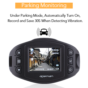 Apeman C470 Parking Monitoring