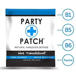 Party Patch, The Ultimate Natural Hangover Defense