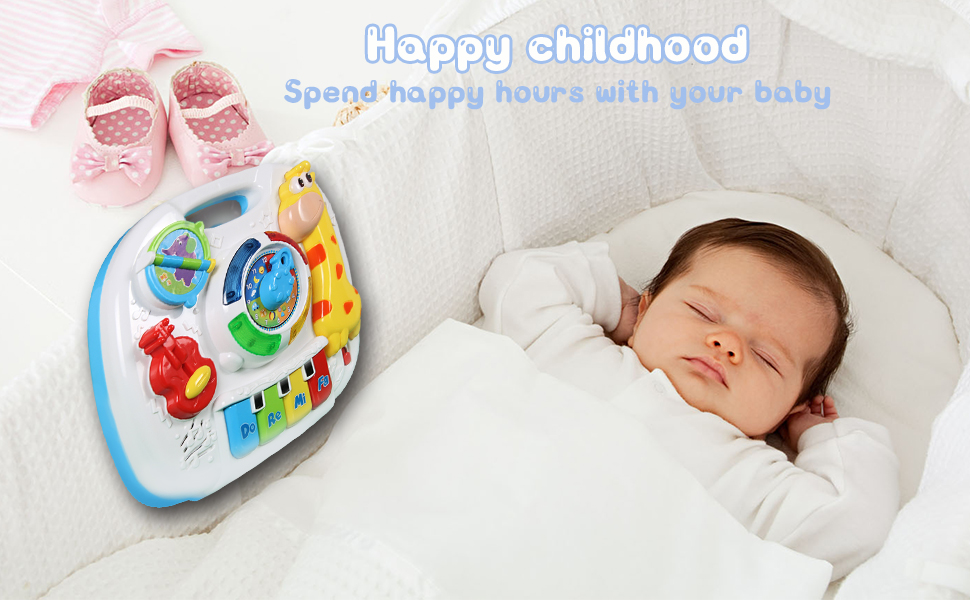 baby toys_music learning table_toys for 1 2 3 year old_baby toys 6-12 months