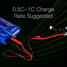 Ovonic lipo battery charge rate
