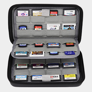64 Game Cartridge Holders Universal Storage Case for Games SD Cards