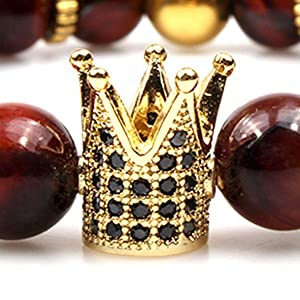 Luxury crown design beads Bracelet