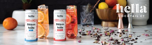 hella cocktail co bitters and soda