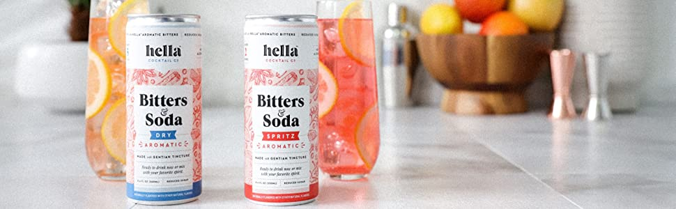 Bitters and Soda both