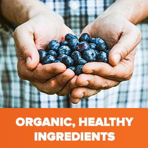 Organic, Healthy Ingredients