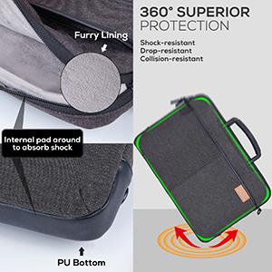 shockproof notebook case