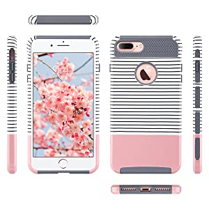 iphone 7 plus case for girls women slim fit fashion protective cover