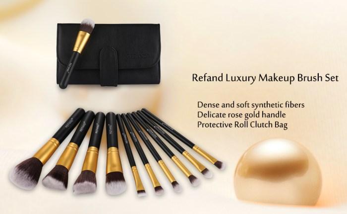 makeup brush set 10pcs