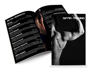 RIPT90: 90 Day 14-DVD Workout Program with 14 Exercise Videos Training Calendar 12
