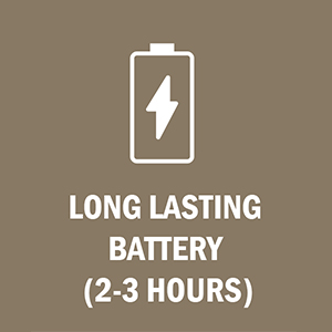 LuLu 7+ has a long lasting battery