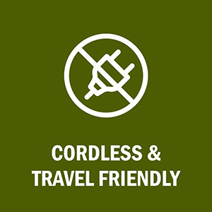 magic wand cordless travel friendly