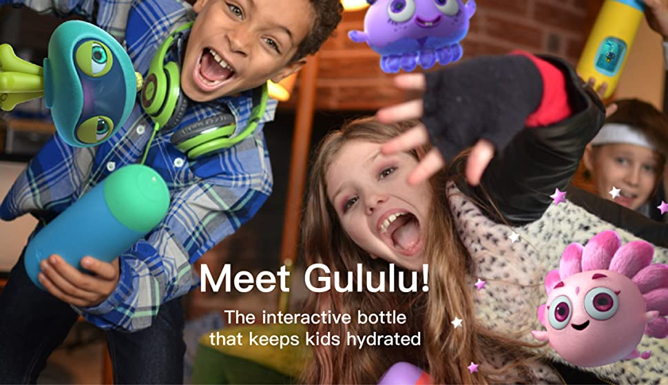 Gululu Talk The Interactive Smart Water Bottle & Health Tracker for Kids 38