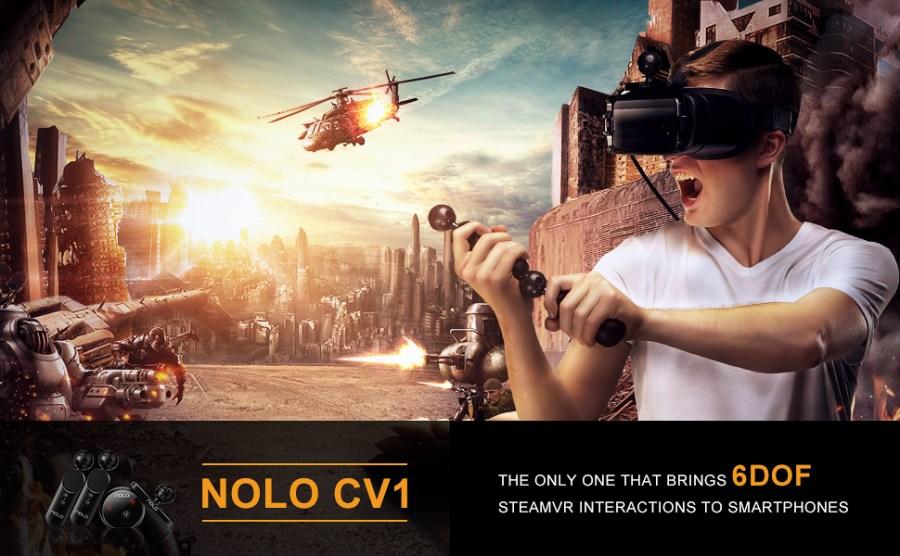 Jogabilidade NOLO CV1 SteamVR