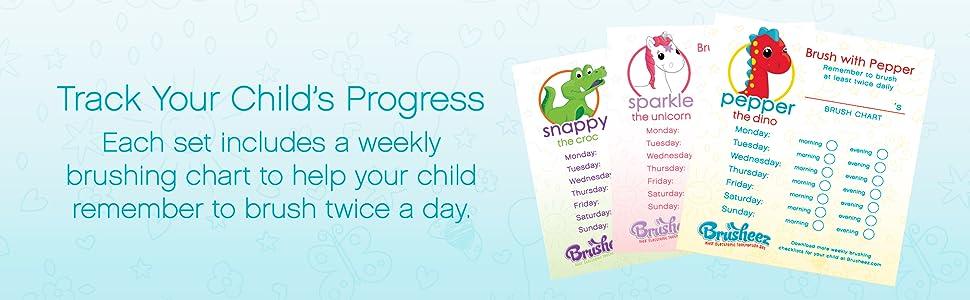 Brusheez: Track Your Child's Progress