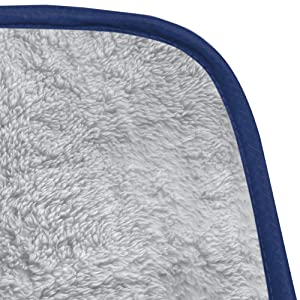 soft polar fleece inside shows how soft and cozy for cold weather at festivals or outdoor stadium