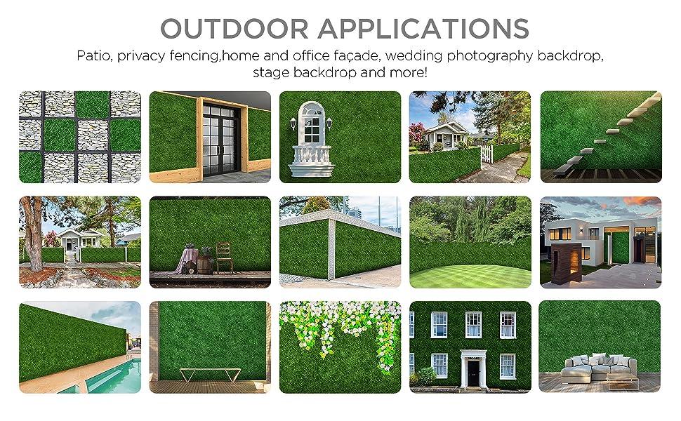 greenery wall artificial green wall decor boxwood