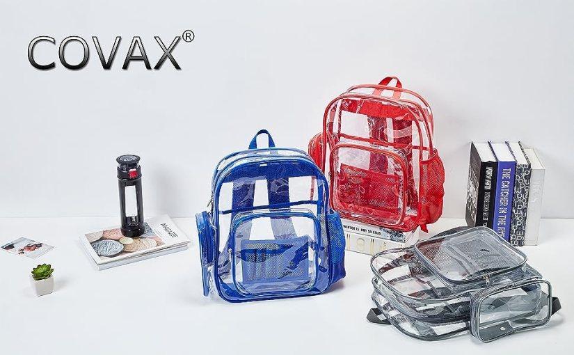Transparent PVC Student Backpack