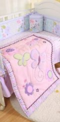 crib bedding sets for girls purple pink baby girls crib sets nursery bedding decor cotton floral