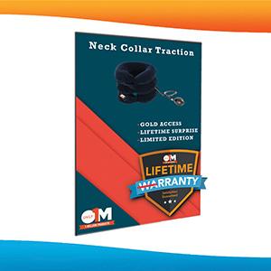 melhor colar cervical, colar de pescoço inflável, dispositivos de descompressão do pescoço, tração no pescoço para uso doméstico