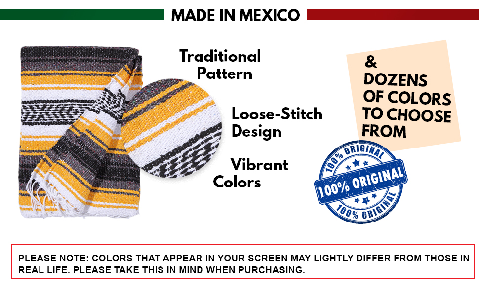 el paso designs saddleblanket southwest product loose woven stitch original dozen colors random good