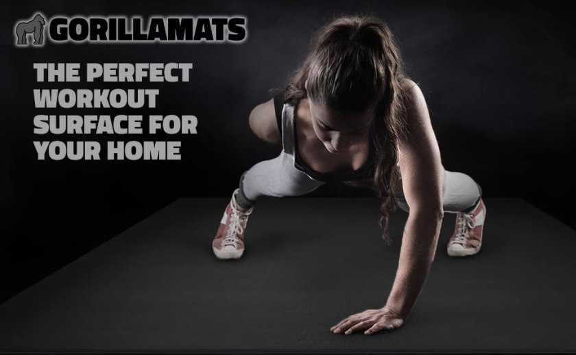Large Exercise Mats for Home Gym