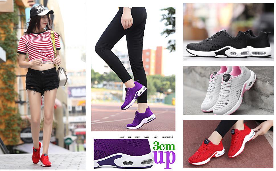 Women running walking shoes