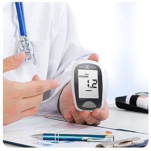 ceto-mojo, tiras de cetona, tiras de glicose, exame de sangue, diabético, metro, sangue, acessível
