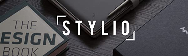 stylio office planner padfolio portfolio organizer leather binder cover data ring binder