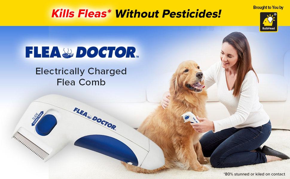 Peine para pulgas doctor