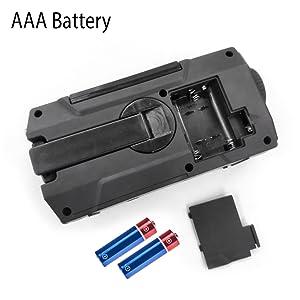 battery operated radio