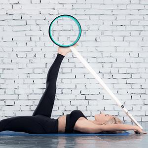 yoga wheels yoga strap