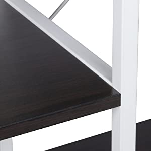 Constructed of two diagonal braces, this rack is more sturdy than normal ones.