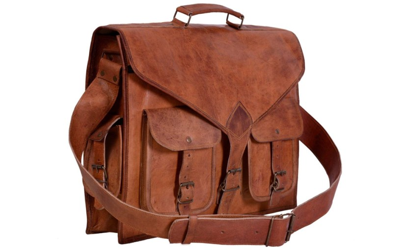 leather briefcases for men 18 inch