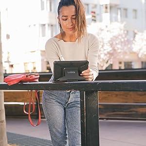 iPad mini Case, Heavy Duty, Tough, Folio, Smart Cover, Stand, Light