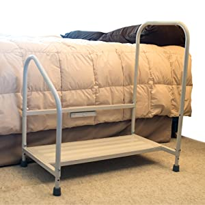 step2bed bed step stool fall prevention aging in place home health bedroom safety