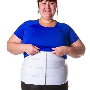 you can wear an abdominal binder under clothes