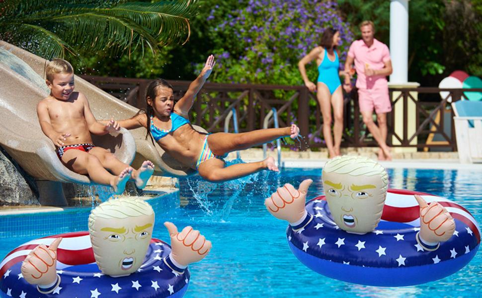 american flag pool