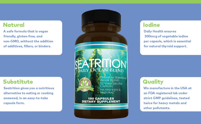 NATURAL THYROID SUPPORT: This cutting-edge supplement utilizes a formula to maintain thyroid health