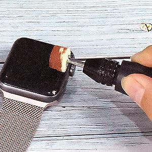 GOXAWEE Wood Sanding glass polishing 5 Speed Mini rotary tool Electric Drill Set with flexible drive