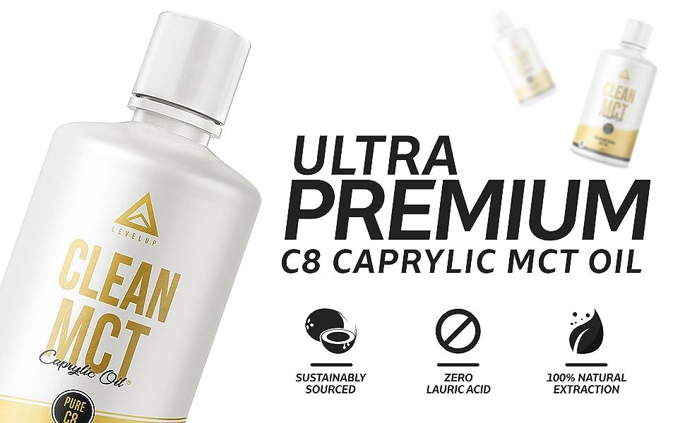 Ultra Premium C8 MCT Oil