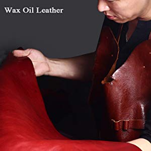 Wax oil leather
