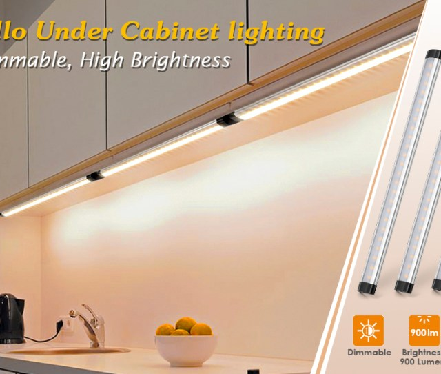 Albrillo Ultra Bright Full Dimmable Under Cabinet Lights