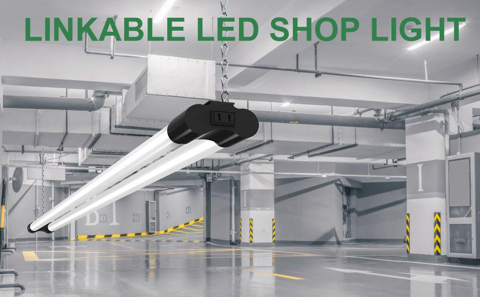 Linkable LED Shop Lights