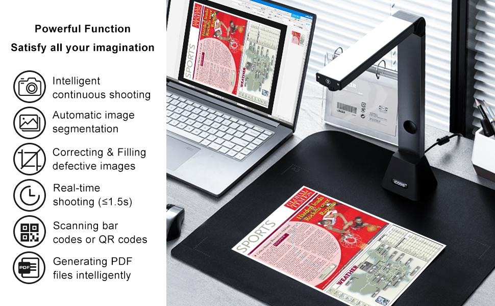 iCODIS Document Camera