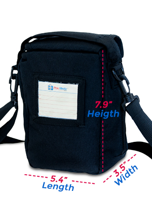 PracMedic Bags T-MEDS Bag compact in size