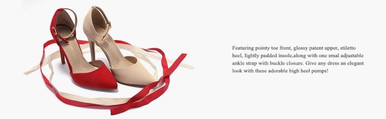 Fashion dress high heel pumps
