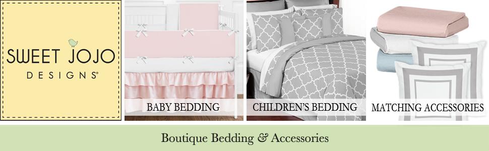 Sweet Jojo Designs Baby Bedding, Crib Bedding, Children's Bedding, Nursery, Boutique Accessories